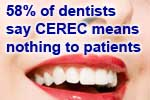 Cerec is not effective dental marketing