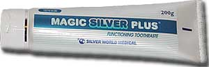 Magic Silver Plus Nano-silver Toothpaste