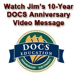10-Year Anniversary Message to DOCS
