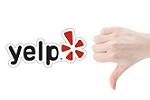 thumbs down for yelp?