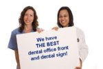 the wealthy dentist dental signage contest