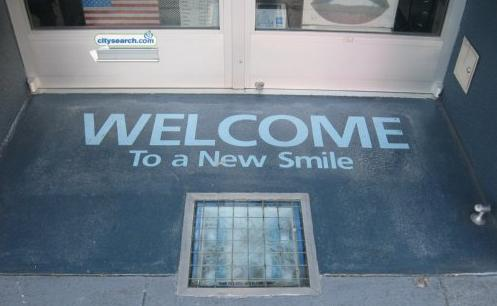 welcome mat signage