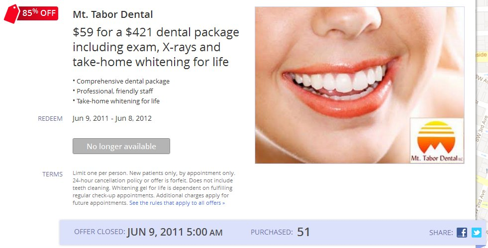 Dental Marketing with Google Offers