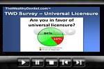 Dentists Want Universal Dental Licensure  (video)