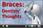 Dental braces dentist survey video