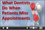 Dental practice management policy: missed appointments