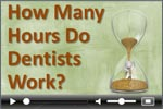 Dentist work week survey video
