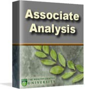 Dental Associate Analysis tutorial